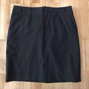 Banana Republic stretch petite 4P skirt